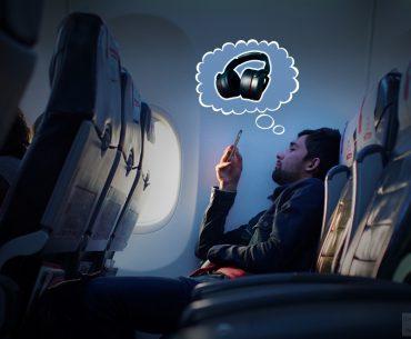 Wireless Headphones For Aeroplane Travel